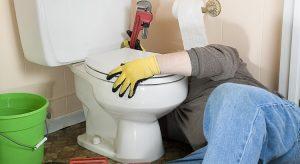 fuite WC simple