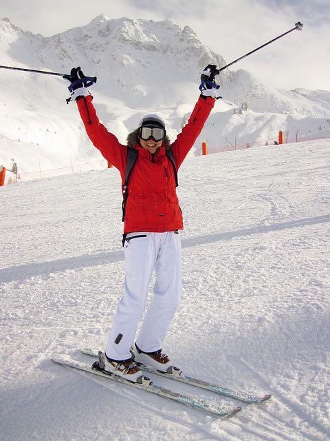 Vacances au ski – Apprendre à skier