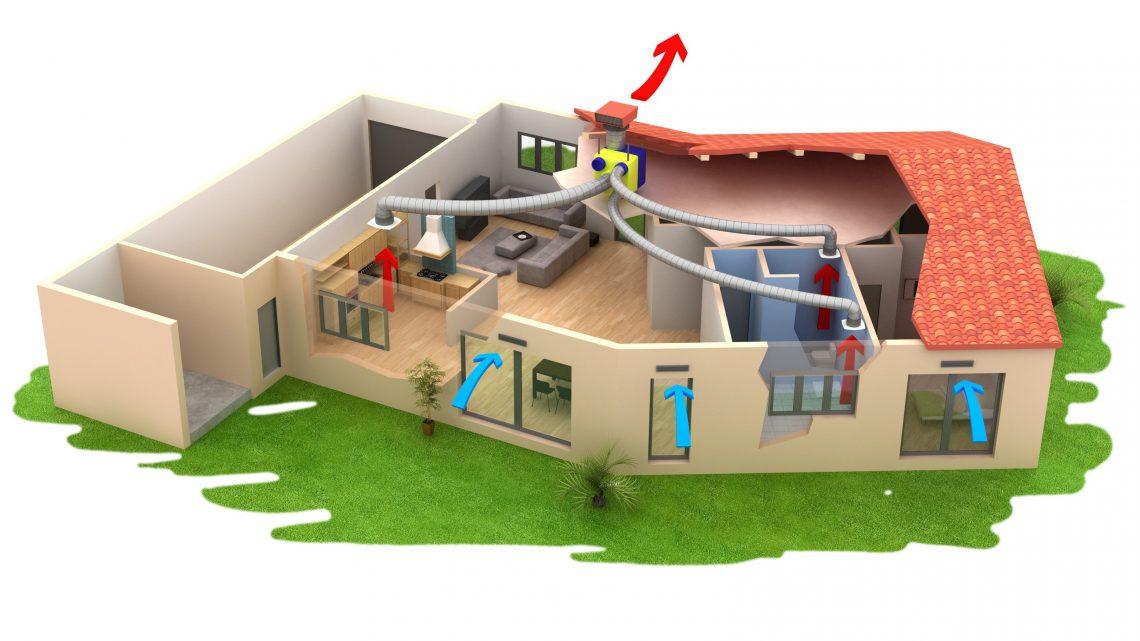 Renouveler l'air frais à l'intérieur des habitations par une bonne ventilation maison