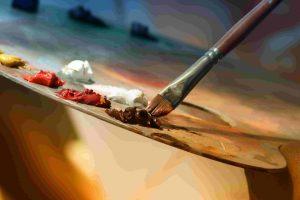 matériel de peinture